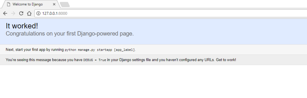 Installing Django in windows 2 - Abhishek Chhibber
